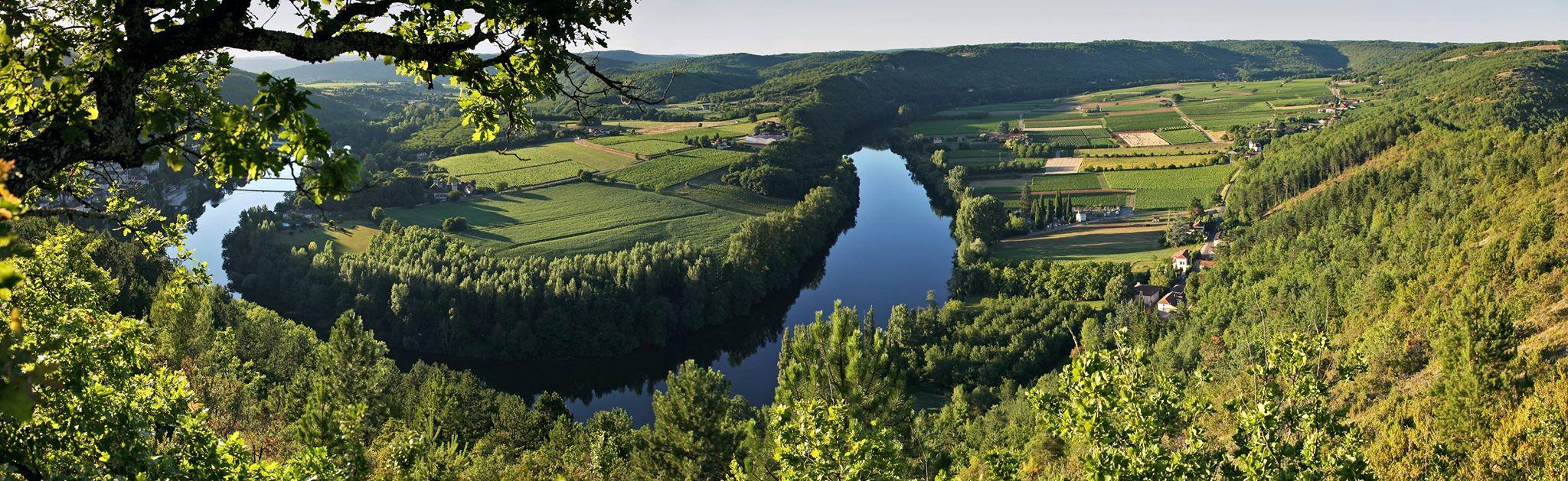 Cahors wijnvelden